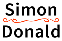 Simon Donald Logo Main Site